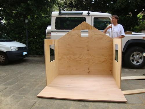 Costruire una casetta sull' albero