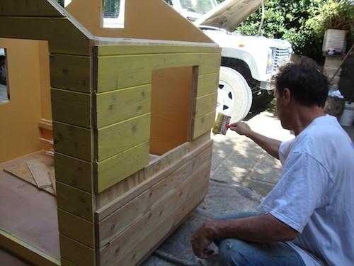 Building a treehouse - Costruire una casetta ...