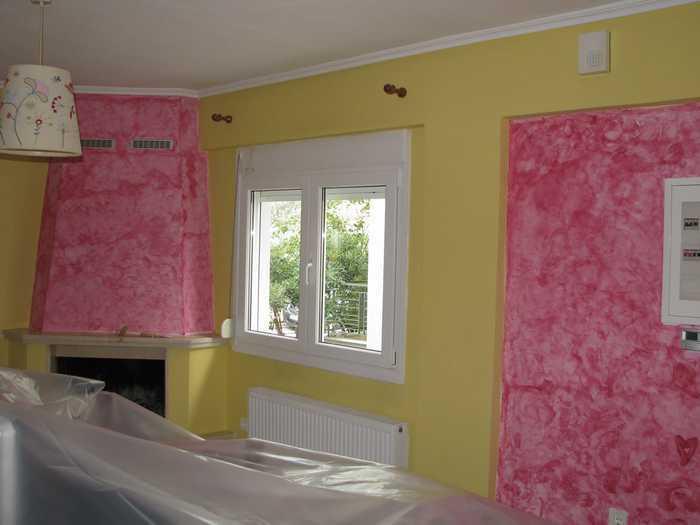 Come dipingere casa da soli e la scelta dei colori for Tecniche di pittura pareti