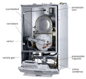 caldaia_condensazione int&ext Impianti a bassa temperatura