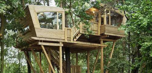 Normative per la realizzazione di una casetta sull albero for Case costruite su pendii
