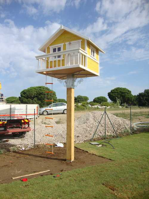 Tutte le fasi 5a puntata costruire una casetta sull albero - Costruire una casetta ...