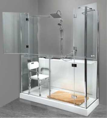 Trasformare la vasca in doccia for Costruttori domestici del nordovest pacifico