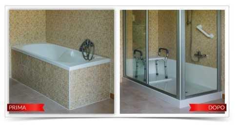 Trasformare la vasca in doccia - Soluzioni vasca doccia ...