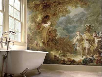 Tessuti e texture sulle pareti di casa - Scritte sulle pareti di casa ...