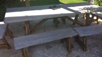Come realizzare un gazebo nel giardino i passi principali - Realizzare un tavolo in legno ...