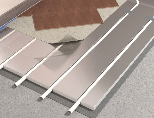 Impianto radiante a umido e a secco le differenze for Tipi di tubi