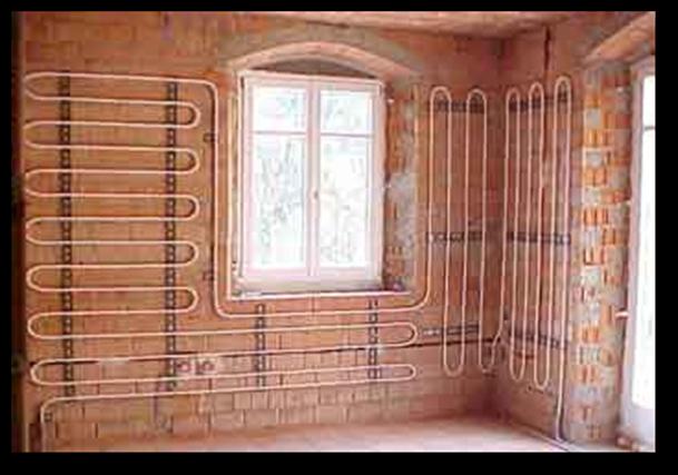 Impianto climatizzazione radiante a parete - Riscaldamento pannelli radianti a parete ...