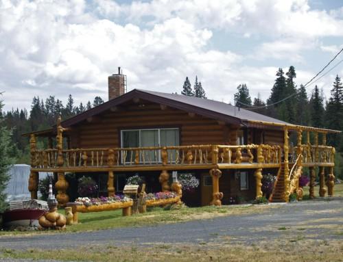 Casa in legno in stile nordico per il risparmio energetico