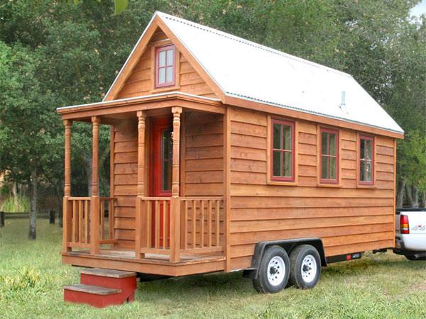 Mini case in legno, il lusso in pochi metri quadri